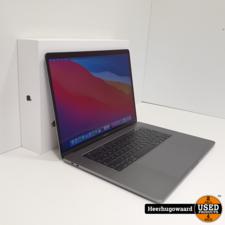 MacBook Pro 15 Inch 2017 - Touchbar i7 3,1GHz 16GB 256GB 22 Cycli