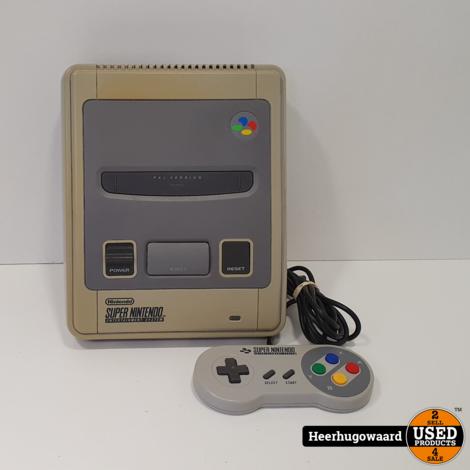 Nintendo SNES Compleet incl. 1 Controller in Goede Staat
