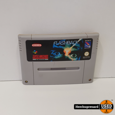 Nintendo SNES Game: Flashback
