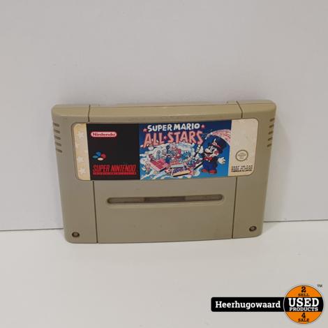 Nintendo SNES Game: Super Mario All Stars