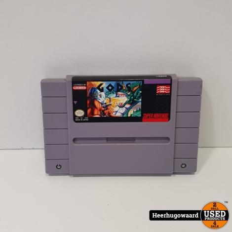 Nintendo SNES Game: Gods USA