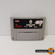 Nintendo SNES Game: Demolition Man