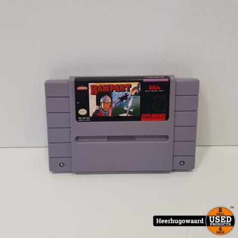 Nintendo SNES Game: Rampart