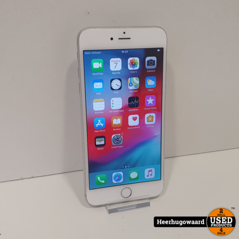 iPhone 6 Plus 64GB Silver in Nette Staat - Accu 85%