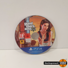 PS4 Game: Grand Theft Auto 5 Losse Disc