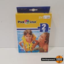 Pool School Deluxe Kinderzwemvest Nieuw in Doos