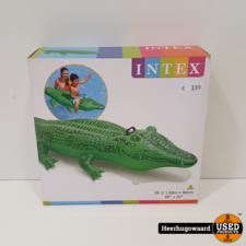 Intex Opblaasbare Kleine Krokodil Ride-On Nieuw in Doos