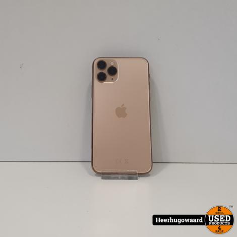 iPhone 11 Pro 64GB Gold in Zeer Nette Staat - Accu 87%