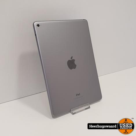 iPad Air 2 32GB WiFi Space Grey in Zeer Nette Staat