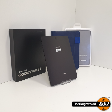 Samsung Galaxy Tab S3 32GB Wifi Black ZGAN incl. Keyboard