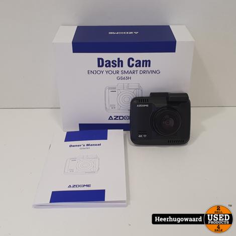 AZDome GS63H CH1 4K Wifi GPS Dashcam Nieuw in Doos