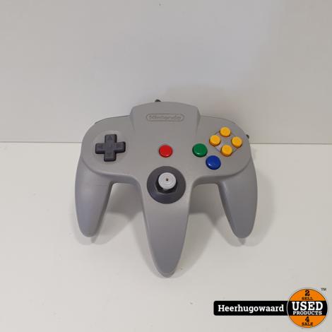 Nintendo 64 Controller Grijs Origineel in Nette Staat