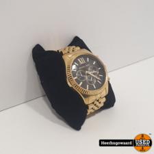 Michael Kors MK8286 Horloge Goud in Nette Staat