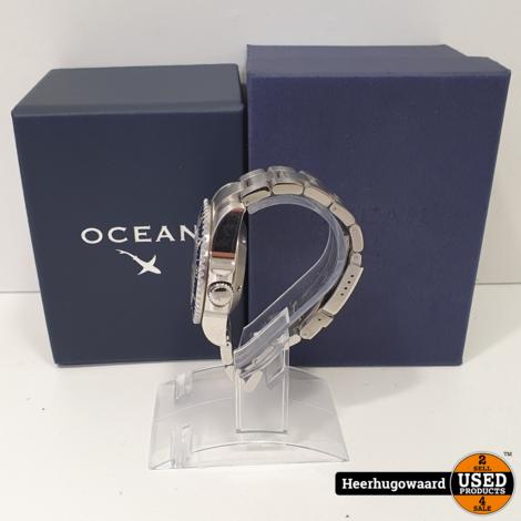 OceanX Sharkmaster 1000 SMS1014 44mm Compleet in Nette Staat