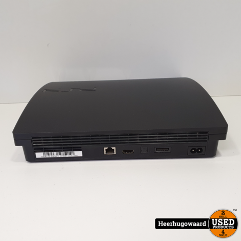 Playstation 3 Slim 320GB Compleet in Goede Staat