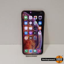 iPhone XS Max 64GB Gold in Nette Staat - Accu 87%