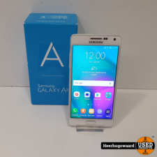 Samsung Galaxy A5 2014 16GB Wit in Nette Staat