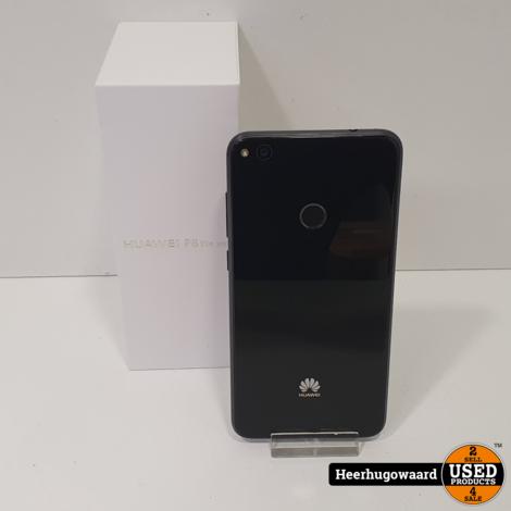 Huawei P8 Lite 2017 16GB Zwart in Zeer Nette Staat