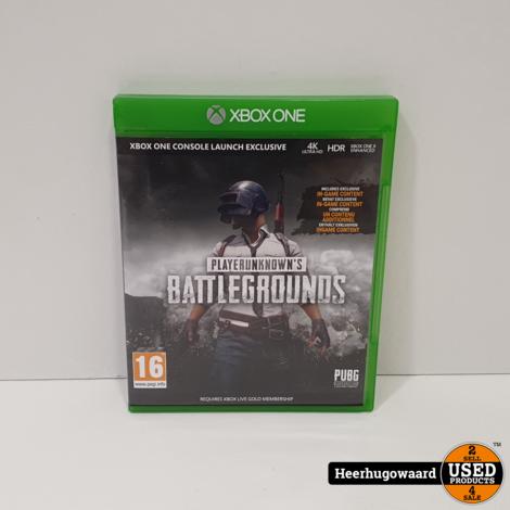 Xbox One Game: Playerunkown's Battlegrounds
