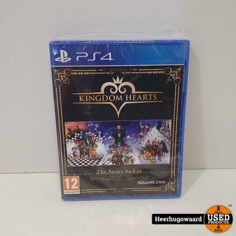 PS4 Game: Kingdom Hearts The Story So Far Nieuw in Seal