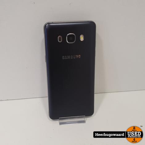 Samsung Galaxy J5 2016 16GB Black in Goede Staat
