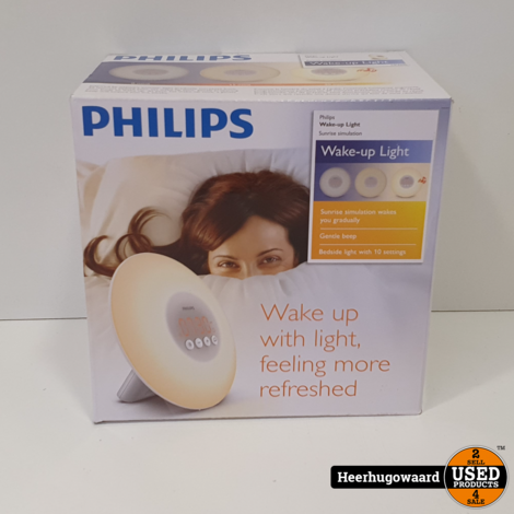 Philips HF3500 Wake Up Light Nieuw in Doos