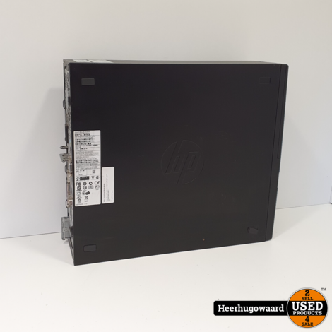 HP RP5800 Desktop PC - i5-2400 3,1GHz 4GB 250GB HDD