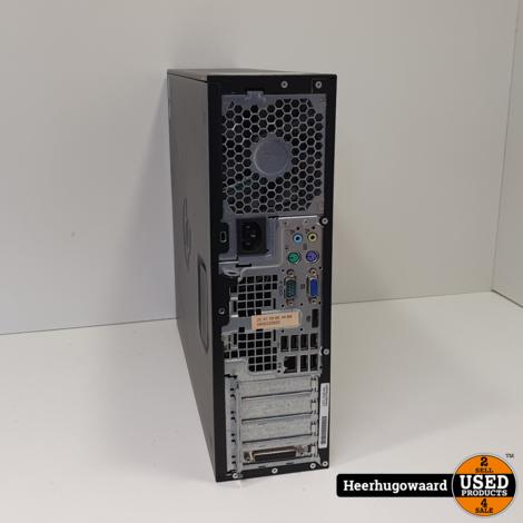 HP Compaq 6200 Pro Desktop PC - i3-2120 3,3GHz 4GB 250GB HDD