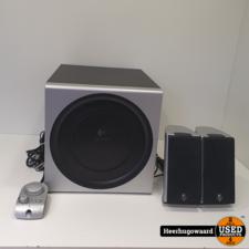 Logitech Z-2300 2.1 Speakerset Compleet in Goede Staat