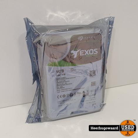 Seagate Exos X16 14TB SATA Harde Schijf Nieuw in Seal