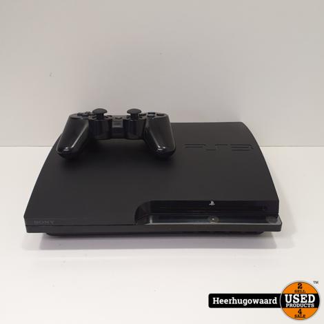Playstation 3 Slim 160GB Zwart Compleet in Nette Staat