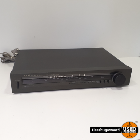 Akai AT-K02 AM/FM Stereo Tuner in Goede Staat