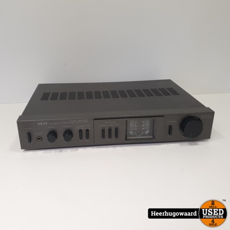 Akai AM-U01 Stereo Integrated Amplifier in Goede Staat