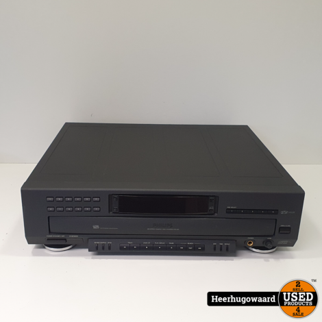 Philips CDC 935/20S Compact Disc Changer in Goede Staat