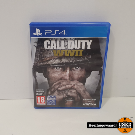 PS4 Game: Call of Duty WWII
