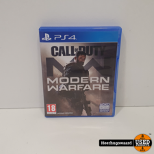 PS4 Game: Call of Duty Modern Warfare