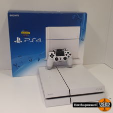 Playstation 4 Phat 500GB Wit Compleet in Doos in Goede Staat