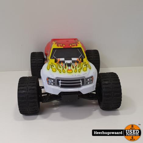 Himoto H12101 Electrische Monster Truck Overcompleet in Nette Staat