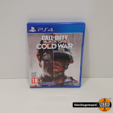 PS4 Game: Call Of Duty Black Ops Cold War