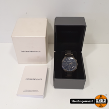 Emporio Armani AR2505 Horloge Compleet in Nette Staat