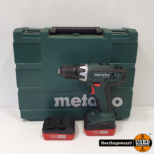 Metabo BS 14.4 Accuboormachine Overcompleet in Koffer