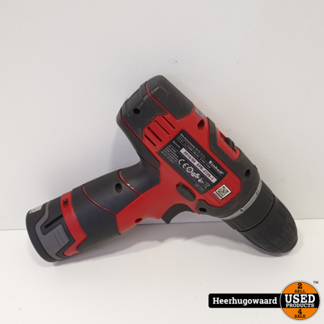 Einhell EFR-2729-1 Accuboormachine incl. Oplader in Goede Staat