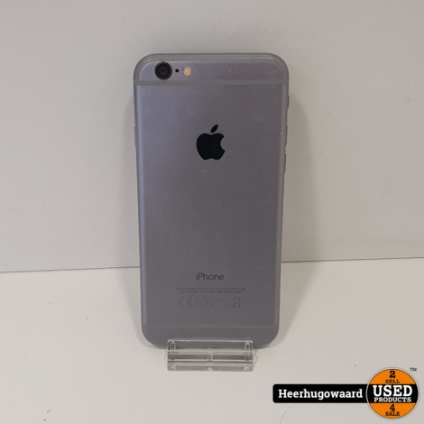 iPhone 6 16GB Space Grey in Nette Staat - Accu 91%