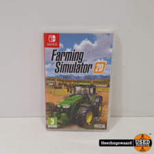 Nintendo Switch Game: Farming Simulator 2020