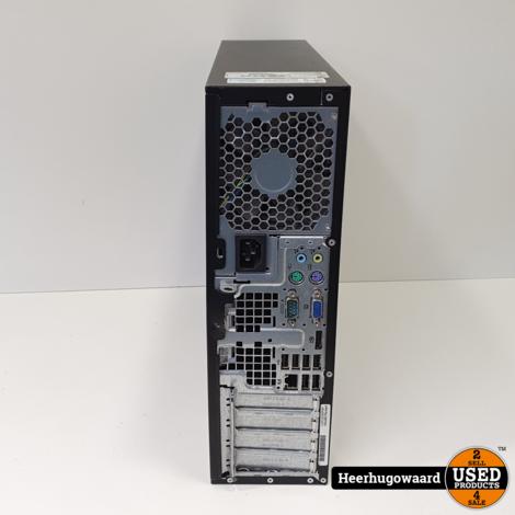 HP Compaq 8200 Elite Desktop PC - i3-2100 3,1GHz 4GB 250GB HDD