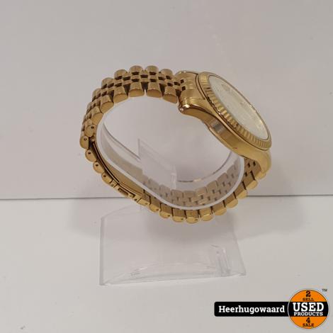 Michael Kors MK-8281 Herenhorloge Goud in Nette Staat
