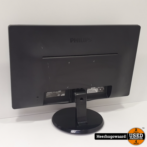 Philips 226V4LAB 22'' Full HD Monitor DVI in Goede Staat