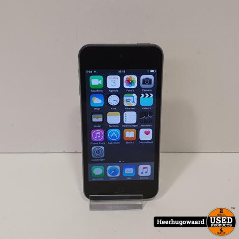 iPod Touch 5 32GB Space Grey in Zeer Nette Staat