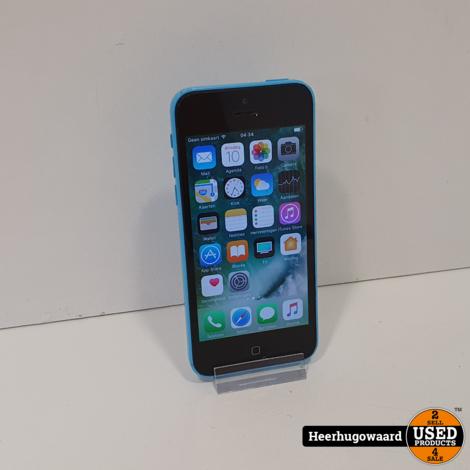 iPhone 5C 16GB Blue in Goede Staat