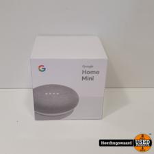 Google Home Mini Wit Nieuw in Seal
